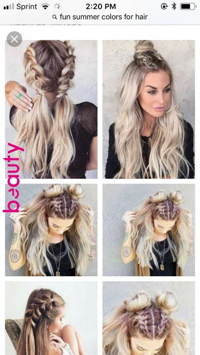 Pin by Beauty, Frisuren on Frisuren Hacks in 2019 | Pinterest | Hair styles, Hair and Medium hair braids #braids
