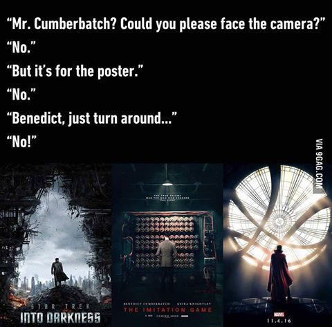 Bahahahaha! Never notices that he's always doing the majestic half head turn for all of his posters...