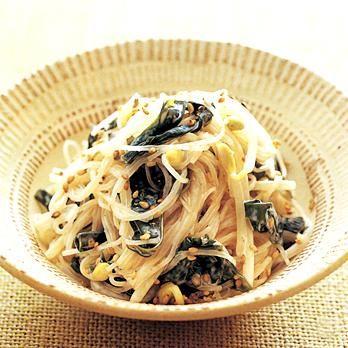 はるさめとわかめのごまマヨネーズ   石澤清美さんのおつまみの料理レシピ   プロの簡単料理レシピはレタスクラブニュース