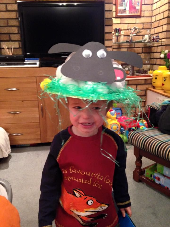 A cute Timmy Easter bonnet, shared on Facebook!