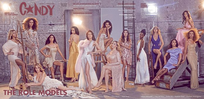 Exclusive: The World's Biggest Transgender Stars Cover C☆NDY