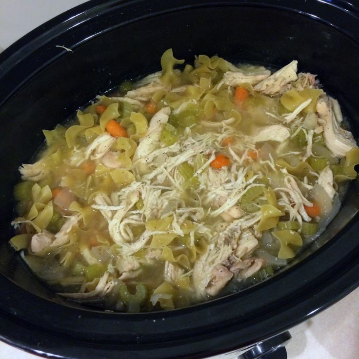 Macro friendly chicken noodle soup! 3g fat, 10g carbs, 31g protein per serving!