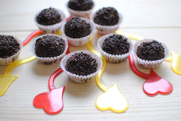 Trufas de Chocolate Sin Gluten y Sin Lactosa #singluten