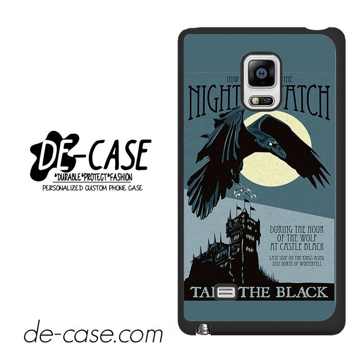 Game Of Thrones Night Watch DEAL-4577 Samsung Phonecase Cover For Samsung Galaxy Note Edge