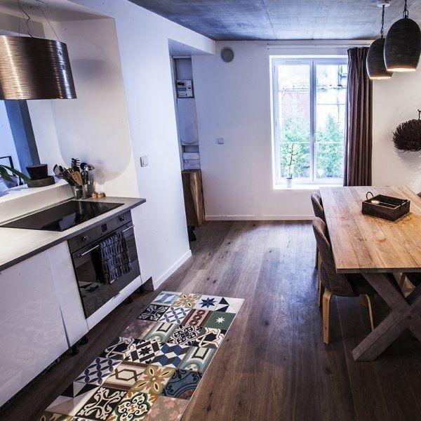 Les Meilleures Images Du Tableau Decoration Carreaux De Ciment - Carrelage cuisine carreau de ciment pour idees de deco de cuisine