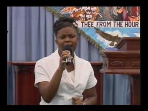 Sis. Maria Bramble -Tabernacle Third Exodus -Trinidad And Tobago- Run Fo...