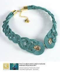 soutache necklaces ile ilgili görsel sonucu