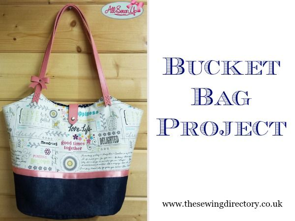 Sew a simple bucket bag | FREE pattern & instructions