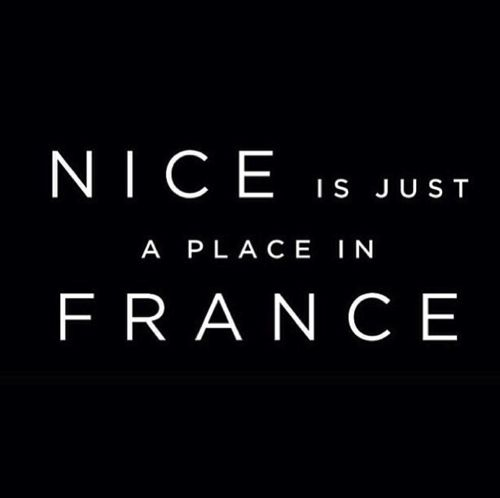 "You want guests to use another word than ""nice"" when referring to your destination. (Nice is just a place in France)."