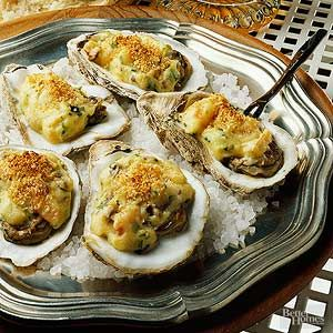 When buying fresh oysters, look for those with tightly closed shells and a fresh scent. Avoid any with a strong fishy odor.