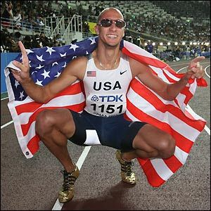 jeremy wariner | jeremy wariner clocks a time of 43 35 seconds to win 2004 olympic ...