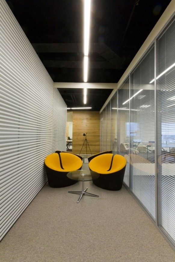 Yandex-Yekaterinburg offices Lounge area