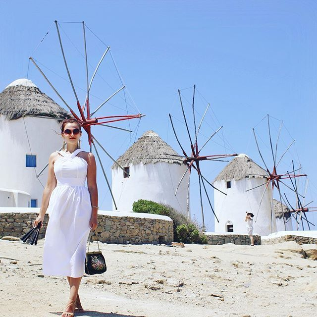 #windmills #mykonos #greece