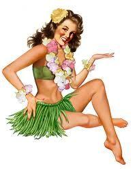 Hula #vintage #tiki #hawaii