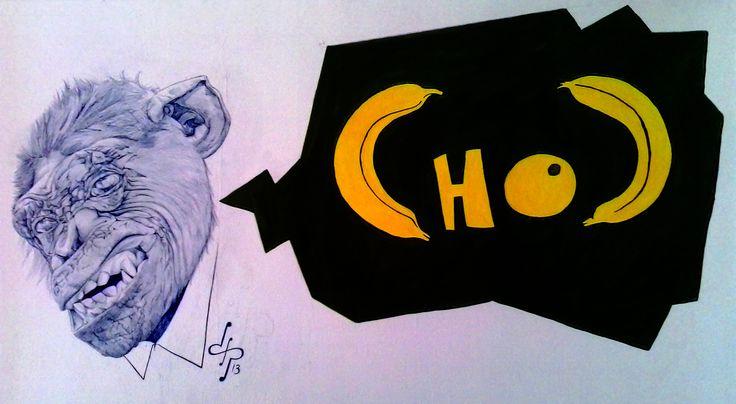"""CHOC Monkey"" by David Pérez"