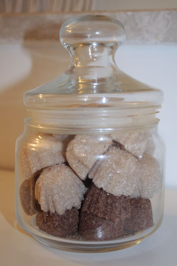 Zollette di zucchero aromatizzato | Nastro di Raso