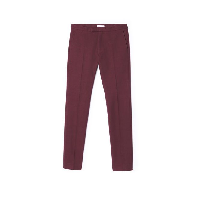Runway Edition Wool And Cotton Pants by Lacoste