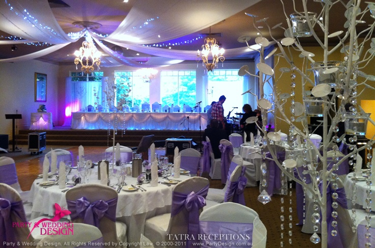 Tatra Reception decorated by Party & Wedding Design