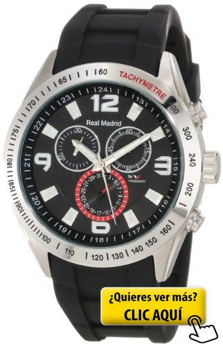 Reloj Viceroy Real Madrid 432835-55 Hombre Negro #reloj