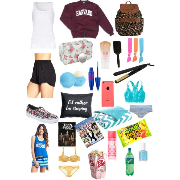 10 Best Images About What To Pack For A Sleepover On Pinterest