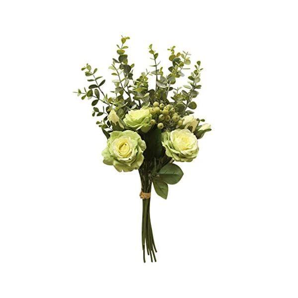 Silk Hydrangea Simulation Fake Flowers Leaf Stem Wedding Bridal Party Home Decor