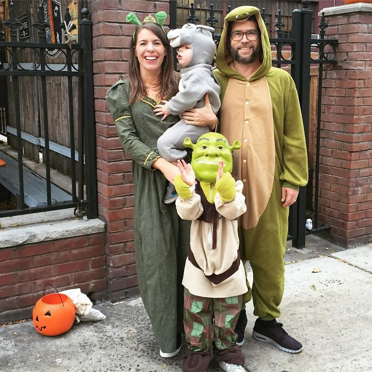 Shrek family Halloween costume