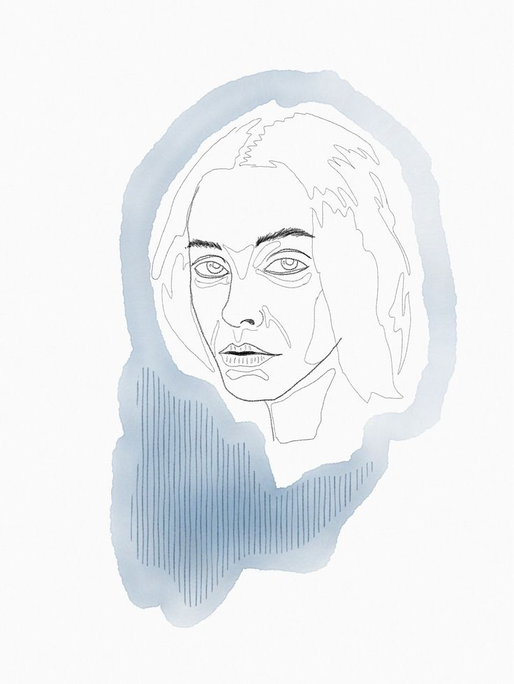 Illustration iPad Pro watercolor pencil @theheadhnt
