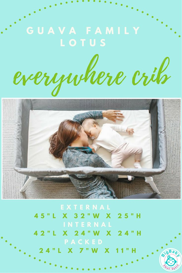 Light portable crib for babies - The Guava Family S Everywhere Lotus Portable Travel Cribs Is By Far The Most Useful Lightweight