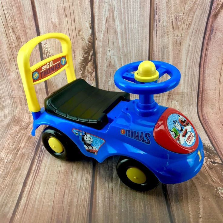 Thomas & Friends Go Go Thomas first Ride On car walker horn baby infant toddler