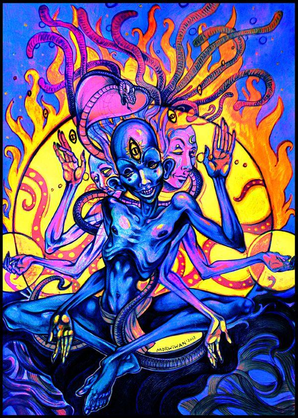 Om Namaha Shivaya by LimbicSplitter.deviantart.com