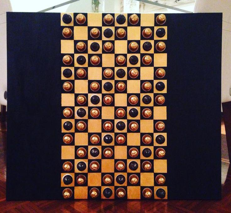 Nespresso Art Black and Gold by Arte NK