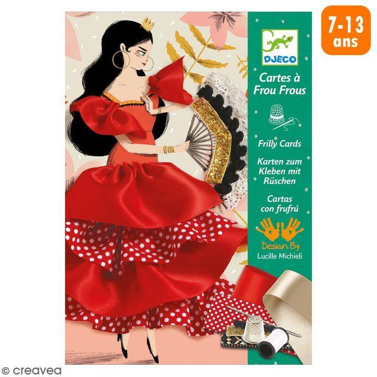 Compra nuestros productos a precios mini Cartas con Frufrú - Flamenco - 3 creaciones - Entrega rápida, gratuita a partir de 89 € !