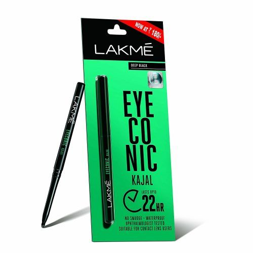 Lakme Eyeconic Kajal Black 0.35 g At Rs.144 From Amazon