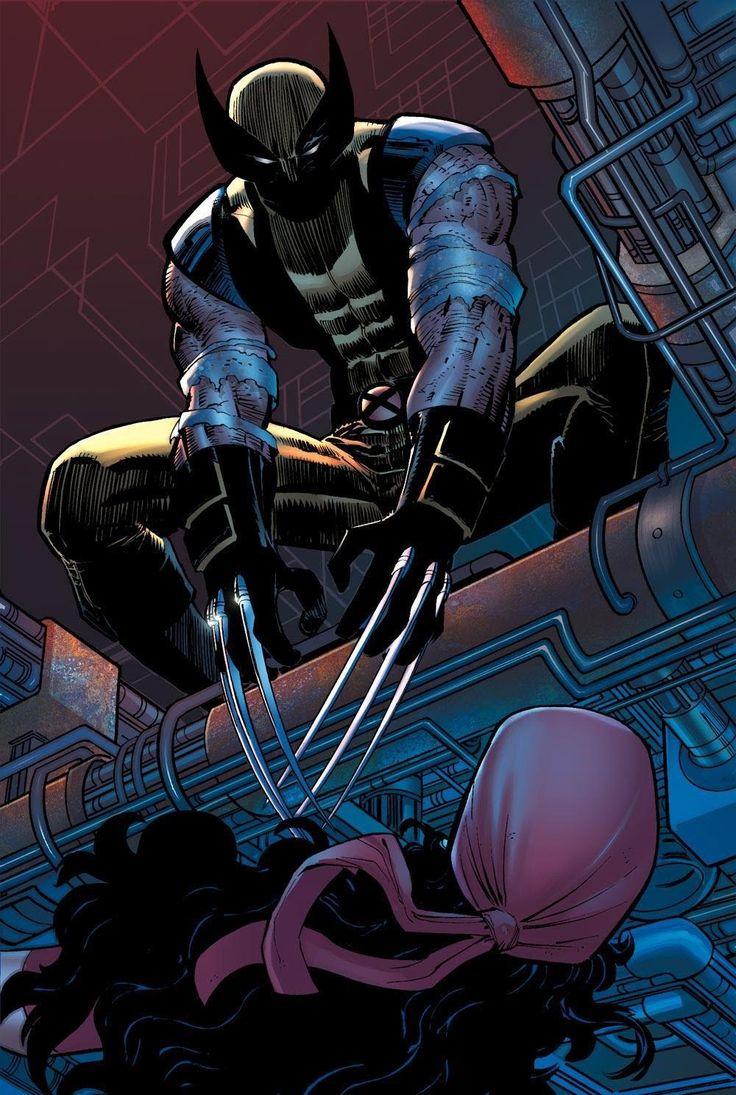 Wolverine & Elektra by John Romita Jr