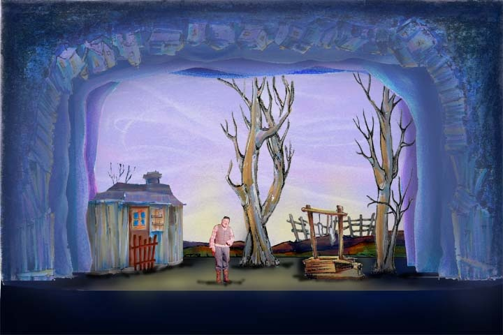 Boris Aronson S Scenic Design For Quot Fiddler On The Roof