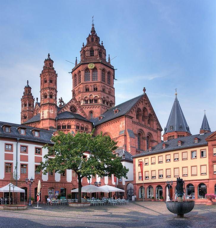 Vintage germany mainz Mainz Cathedral Mainz Germany been here EVE LOVED IT