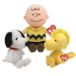 I love these little guys; they even play the Peanuts theme song when you press their palm.