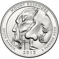 quarter dollar south dakota 1889