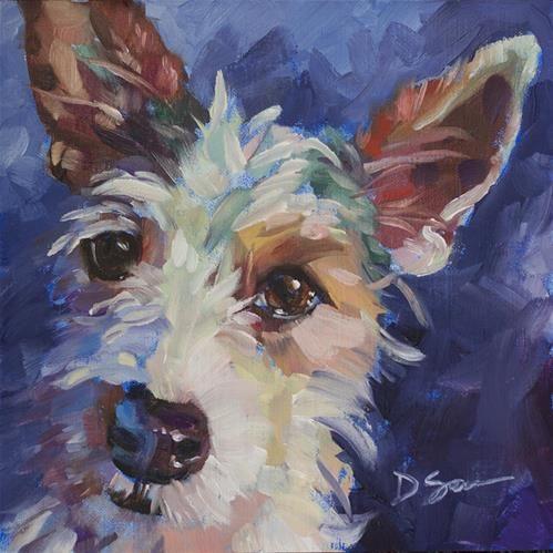 "Daily+Paintworks+-+""Sonic""+-+Original+Fine+Art+for+Sale+-+©+Deborah+Savo"
