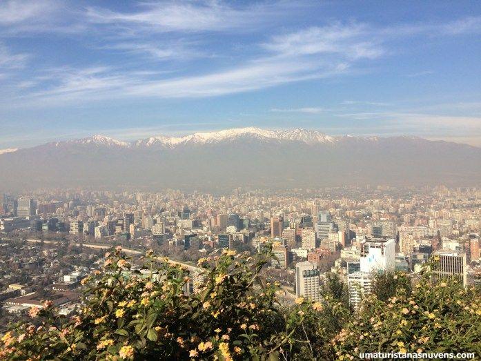 Cerro San Cristóbal em Santiago no Chile