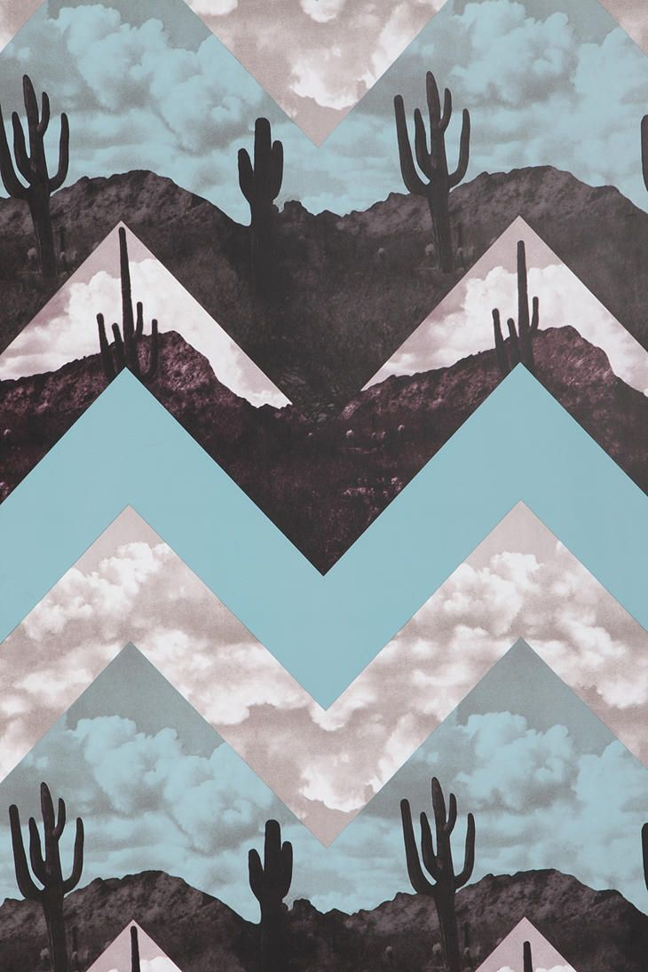 desert chevron wallpaper urban outfitters quilt designs. Black Bedroom Furniture Sets. Home Design Ideas