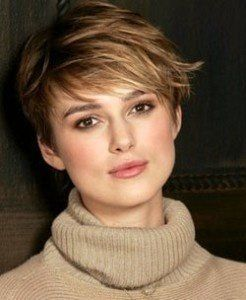 Keira Knightley's pixie. She has more of a heart-shaped face so I think this would work for me.  | followpics.co