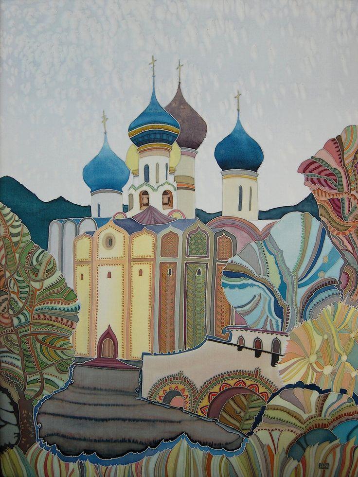 Art of Silk Painting by Irina Dorofeeva