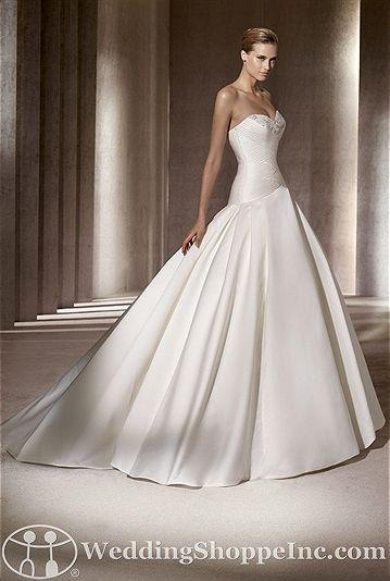 Pronovias Bridal Gown Ballet - Visit Wedding Shoppe Inc. for designer bridal gowns, bridesmaid dresses, and much more at http://www.weddingshoppeinc.com