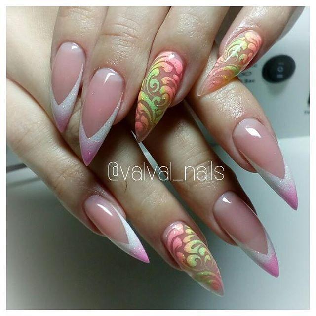 #маникюр #нэйларт #стилеты #росписьнаногтях #дизайнногтей #nailart #nails