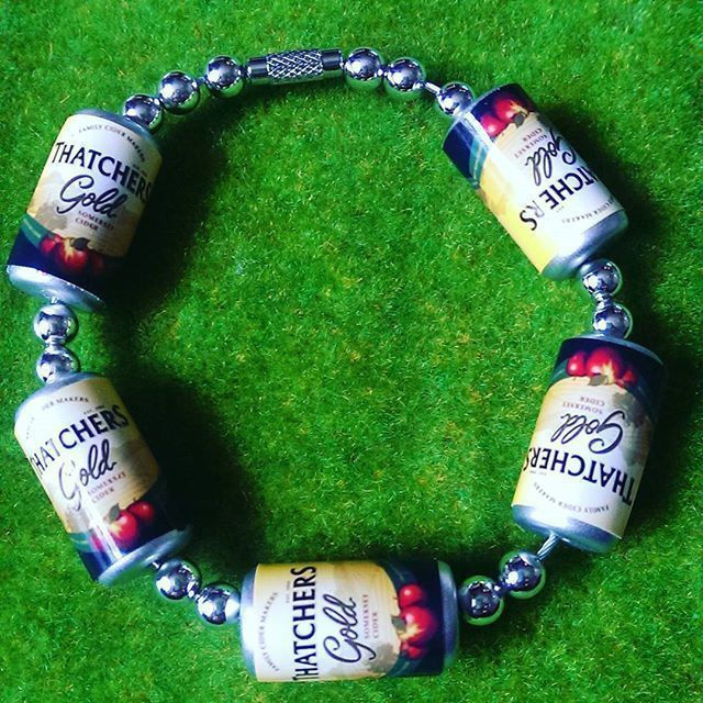 Thatchers Gold Cider Cans Bracelet £9.99