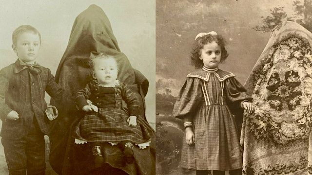 The Overwhelming Weirdness Of 1800s Ghost Mother Photography.  We have come a long way in this profession.
