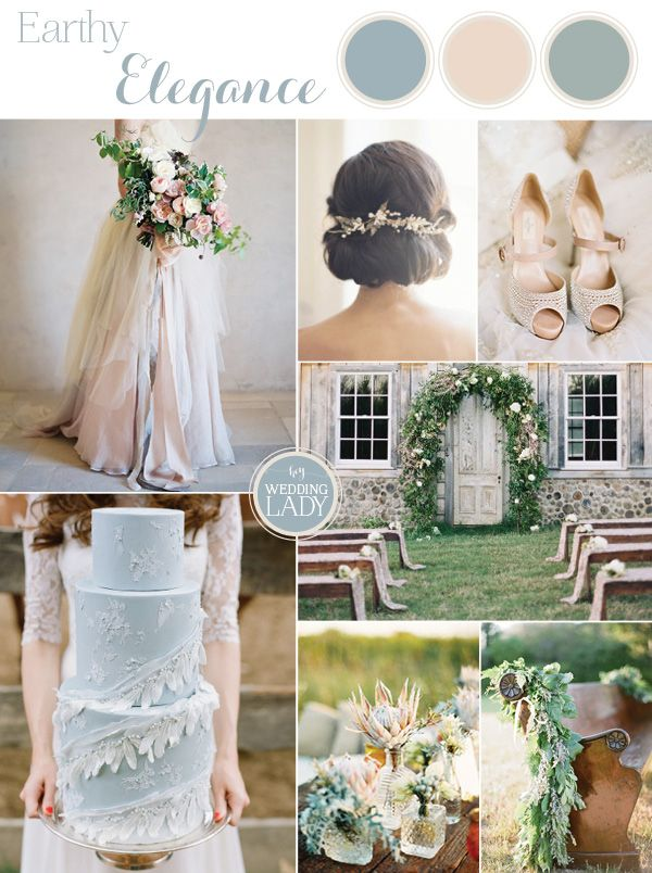 174 best wedding color schemes images on pinterest wedding color 9 ethereal wedding palettes for spring junglespirit Image collections