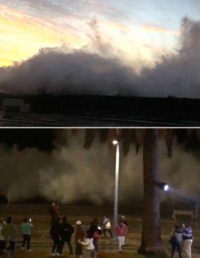 Gigantyczne fale w nadmorskim kurorcie. Przygnało je El Nino. http://tvnmeteo.tvn24.pl/informacje-pogoda/swiat,27/gigantyczne-fale-w-nadmorskim-kurorcie-przygnalo-je-el-nino,191785,1,0.html