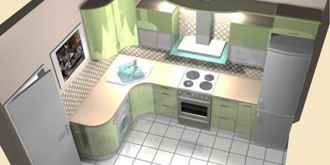 Как часто мы можем слышать от знакомых сокрушения по поводу маленькой кухни. Мол, на кухне в 7 квадр...